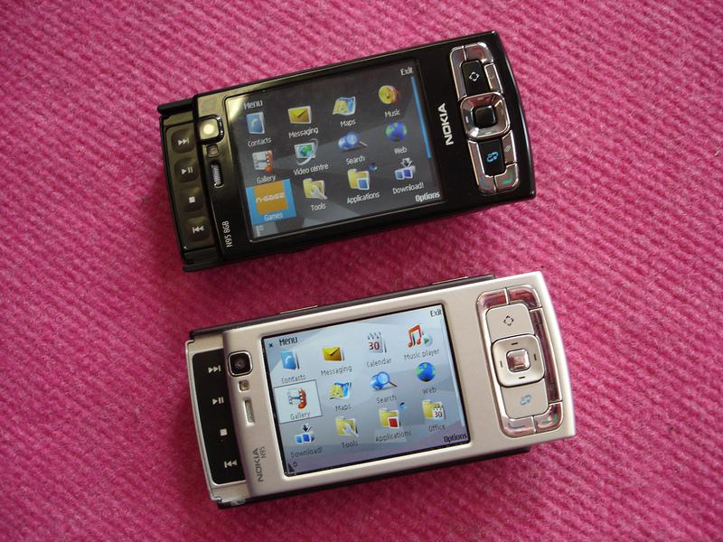 Модель nokia n95 8gb была запланирована давно, но уже с Модель nokia n95